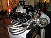 Engine for the Indy 500-race