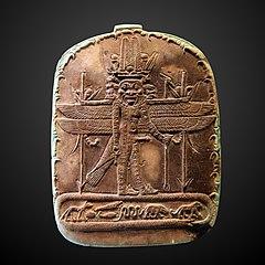 Stèle portative : dieu panthée