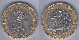 Portuguese escudo - 200$00 of 1991