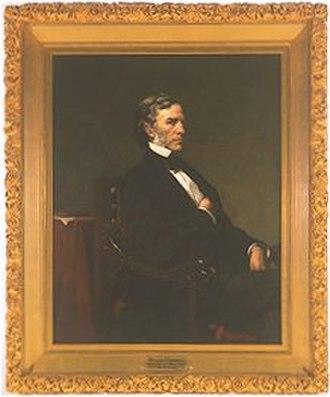 William P. Fessenden - Frederic Porter Vinton's portrait of William P. Fessenden, posthumous. Circa. 1870
