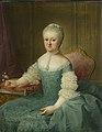Portret van een dame uit de familie van de Poll, vermoedelijk Anna Maria Dedel (1729-79), echtgenote van Jan van de Poll Rijksmuseum SK-A-1271.jpeg