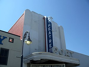 Port St. Joe, Florida: Port Theatre.