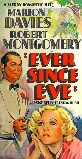 Description de l'image  Poster - Ever Since Eve (1937) 02.jpg.