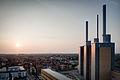 Power Station Linden Hanover Germany Sunset.jpg