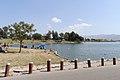 Prado Regional Park lakefront 2015-04-05.jpg