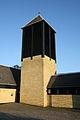 Praestevang Kirke Hilleroed Denmark belfry.jpg