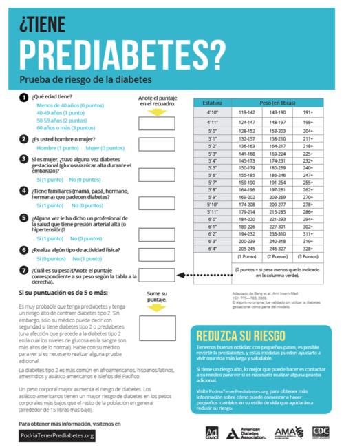 prevenir la prediabetes