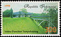 Presidential Palace, Tampaksiring, 300rp (1998).jpg
