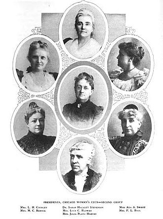Chicago Woman's Club - Presidents of the Chicago Woman's Club.
