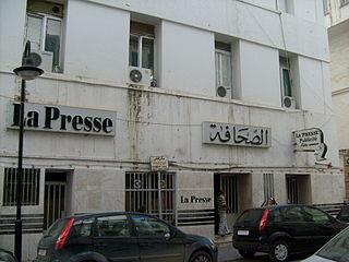 <i>La Presse de Tunisie</i> Tunisian newspaper