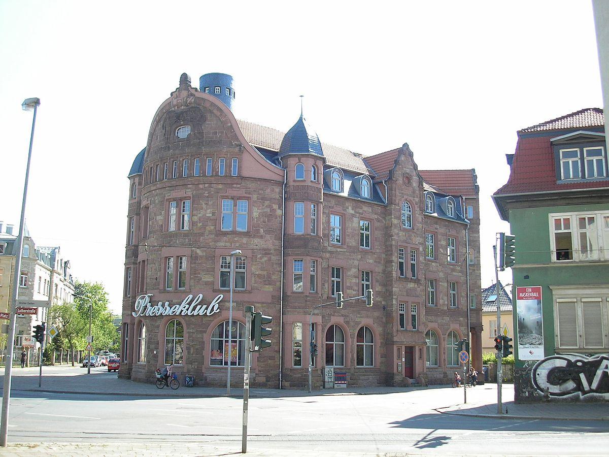 FilePresseklub Erfurt.JPG   Wikimedia Commons