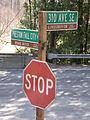 Preston, WA street signs 01.jpg
