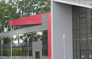 Prienai Arena - Image: Prienai arena