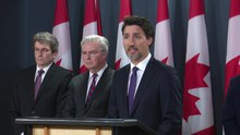 File:Prime Minister Trudeau updates Canadians on the fatal plane crash in Iran.webm