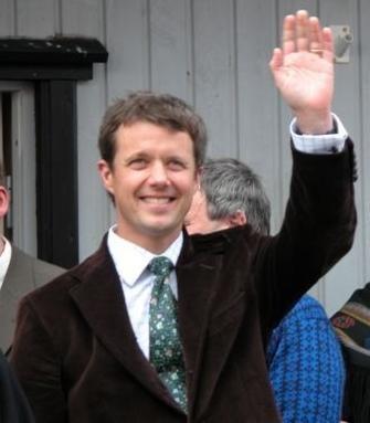Prince Frederik of Danmark