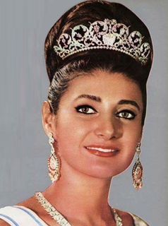 Shahnaz Pahlavi Princess of Iran