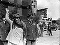 Prinses Juliana keer terug in Engeland na verblijf in Canada. . Zij werd op het , Bestanddeelnr 935-2550.jpg