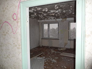 Prora - Typical room (December 2010)