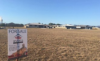 Proserpine, Queensland - Housing expansion on the southern side of town.