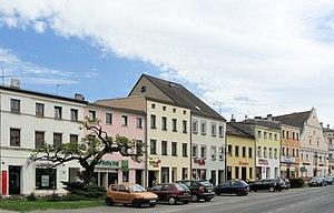 Prószków - Main square