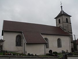 The church in Provenchère