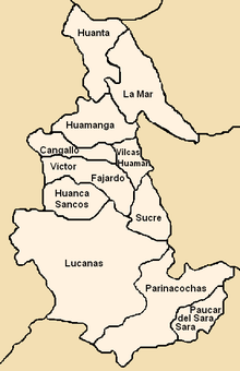 Provinces of the Ayacucho region in Peru.png