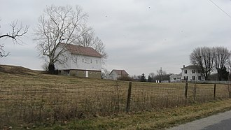 National Register of Historic Places listings in Boone County, Indiana - Image: Pryor Brock Farmstead