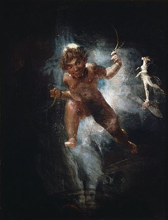 Puck (A Midsummer Night's Dream) - Puck (c. 1810–1820) is one of Henry Fuseli's more sinister depictions of the character