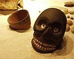 Puebla - Museo Amparo - Culte de la mort.JPG