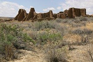 Pueblo Bonito - Pueblo Bonito from the east, 2006