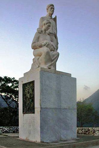 Cayey, Puerto Rico - Monumento al Jíbaro Puertorriqueño.