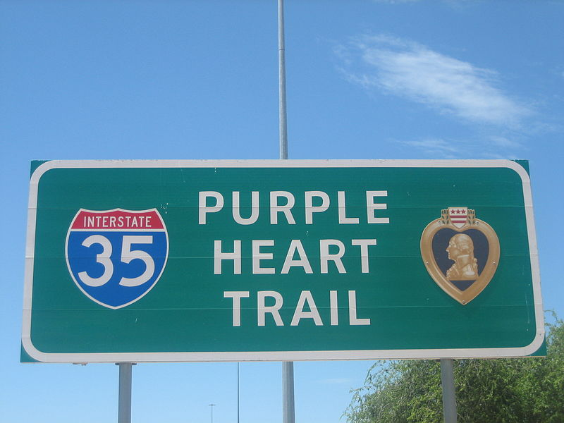 Purple Heart Trail on Interstate 35 IMG 1065 1.JPG