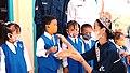 Puteri Indonesia 2020, Raden Roro Ayu Maulida Putri On Her Own Nonprofit Organization, Senyum Desa (7).jpg