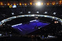 Qizhong Forest Sports City Arena tennis court.jpg