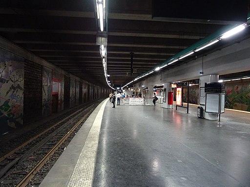 Quai gare Neuilly-Porte Maillot