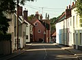Queen Street, looking towards the centre of Castle Hedingham - geograph.org.uk - 846136.jpg