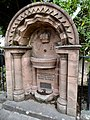 Queen Victoria Diamond Jubilee Drinking Fountain, Overmonnow, Monmouth.jpg