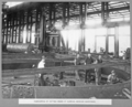 Queensland State Archives 3133 Fabrication of cutting edges of caissons Rocklea Workshops 26 November 1935.png
