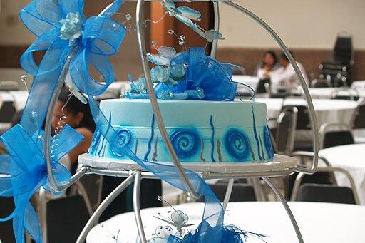 Quinceañeras (a cake)
