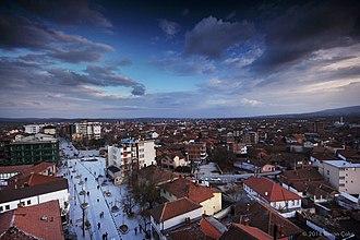 Vučitrn - Panorama of Vučitrn
