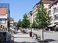Rákóczi utca a Széchenyi utca felé nézve, 2015-07-07 Hévíz, 8380 Hungary - panoramio (17).jpg