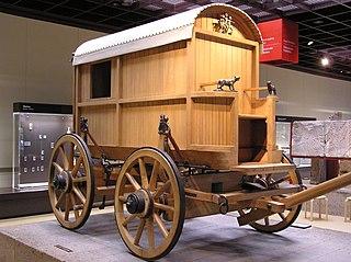 Römischer Reisewagen