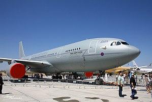 Future Strategic Tanker Aircraft - Royal Air Force Airbus A330-203 at Airbus factory of Getafe, Spain