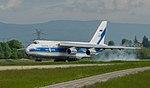 RA 82042 Antanov An124-100 Volga Dnepr Rusian - VDG (27154580266).jpg
