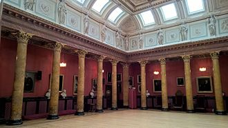 Royal College of Physicians of Edinburgh - The Great Hall in the RCPE building