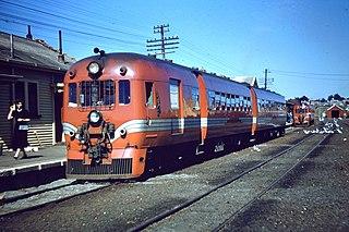 NZR RM class (88 seater) class of 35 New Zealand railcars
