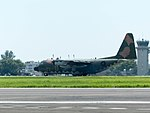 ROCAF C-130H 1316 Taxiing at Gangshan Air Force Base 20170812a.jpg