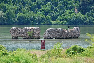Berzasca - Drencova ruins