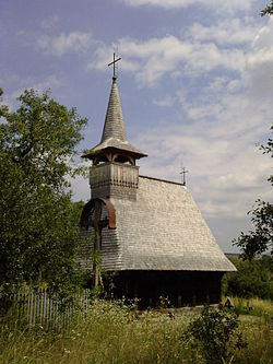 Wooden church of Sârbi