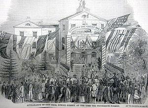 School Street - Image: RR Jubilee 3 Gleasons 1854